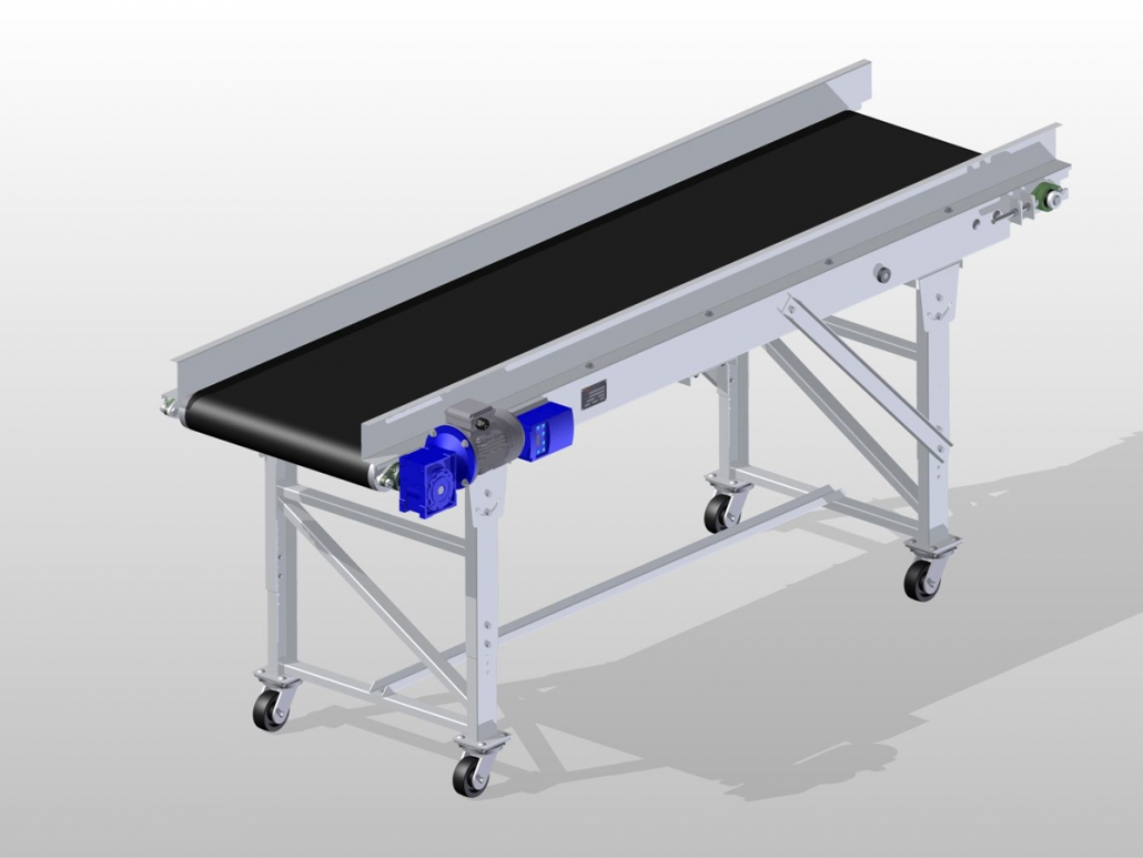 Classic Series - Horizontal Conveyor ISO View