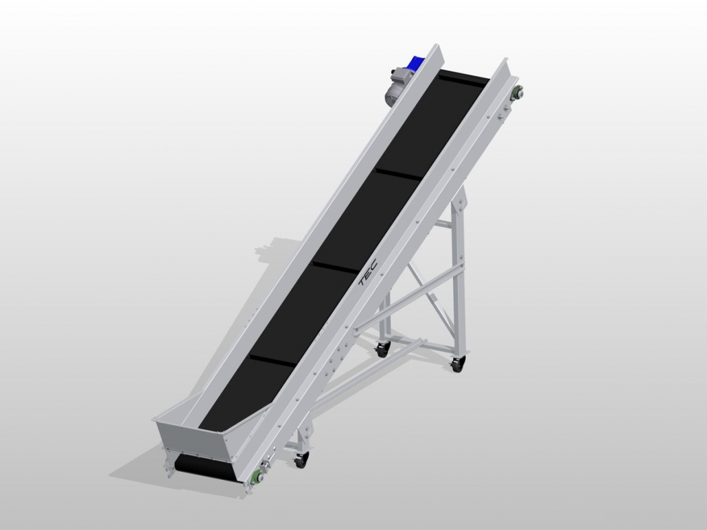Classic Series - Incline Conveyor ISO View