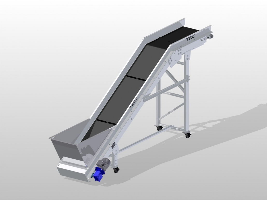 Classic Series - Noseover Conveyor ISO View