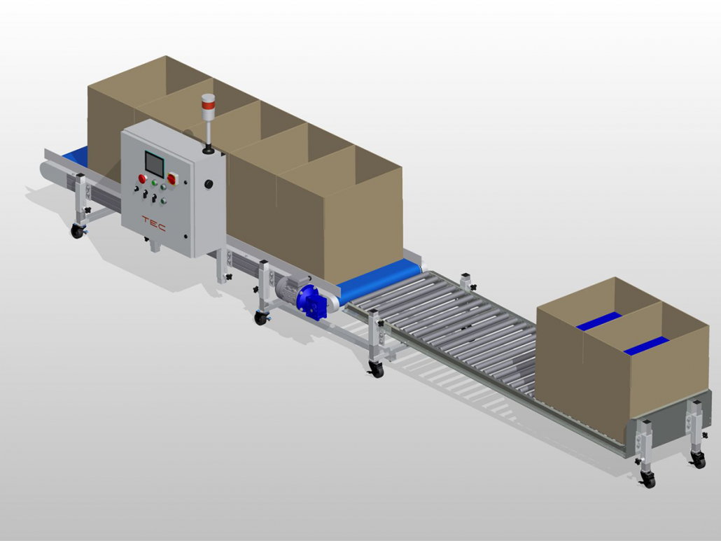 Inline Box Filling System