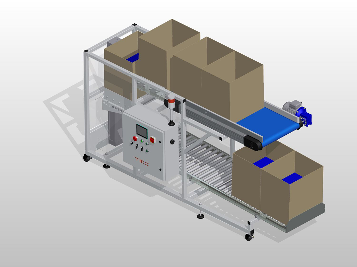 Over/Under Box Filling System