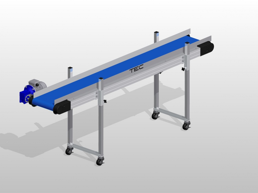 Ultraline Series - Horizontal Conveyor ISO View