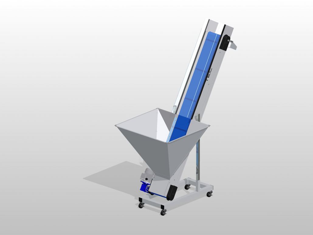 Ultraline Series - Hopper Conveyor ISO View