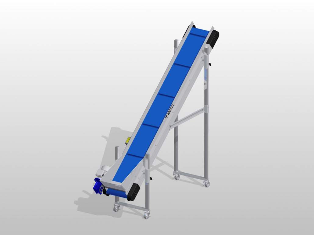 Ultraline Series - Incline Conveyor ISO View