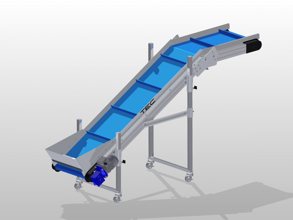 Ultraline Series - Noseover Conveyor ISO View