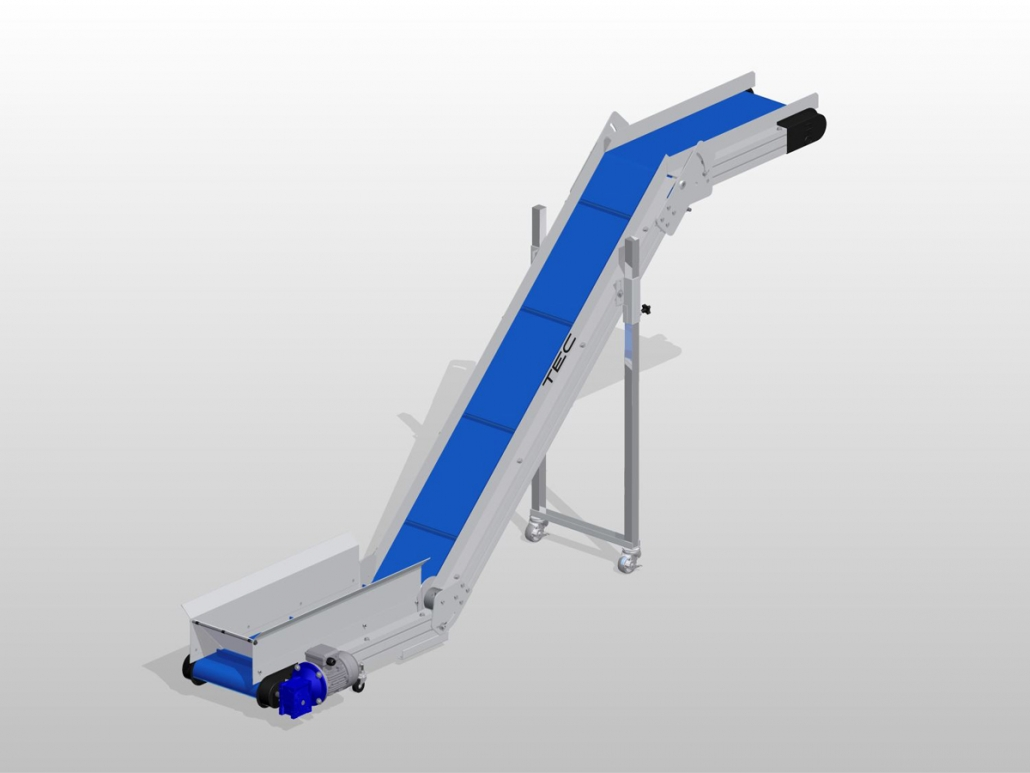 Ultraline Series - Z Conveyor ISO View
